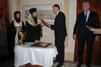 Митрополит Николай отслужи молебен за здраве и успех на кмета Иван Тотев и служителите на Община Пловдив