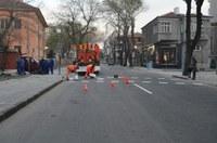Нова термопластична маркировка по пловдивските улици