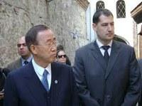 Генералният секретар на ООН Бан Ки-мун благодари на Тотев