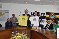 """Отборите """"Локо"""" и """"Ботев"""" излизат на финала с тениски с логото на """"Пловдив 2019"""""""
