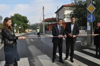 """Откриха официално преасфалтираната улица """"Борис Петров"""" в квартал """"Прослав"""""""
