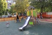 """Откриха поредна детска площадка в пловдивския район """"Западен"""""""