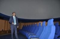 Първа прожекция на уникалния 3D планетариум в Природонаучния музей