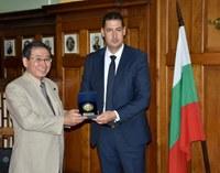 Председателят на EU JAPAN FEST Макаказу Токура е на официална визита в Пловдив за празника на града