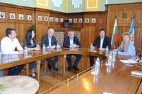 Председателят на Европейската сметна палата на среща с кмета на Пловдив