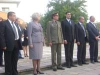 Председателят на парламента Цецка Цачева и областният управител Иван Тотев – гости на празника в град Съединение