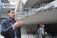 Премахнаха бетоновата ограда на тераса на Римския стадион