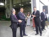 Премиерът Борисов, Иван Тотев, министри и депутати присъстваха на откриването на нов производствен корпус
