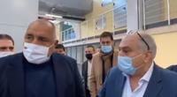 Премиерът Бойко Борисов и Иван Тотев инспектираха в Пловдив машина за ваксини срещу  COVID