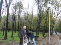 """Приключи изграждането на ново осветление в парк """"Лаута"""""""