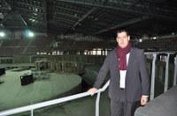 Рестарт на строителството на Многофункционалната спортна зала