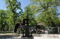 Реставрираният фонтан на Деметра възкръсна за нов живот