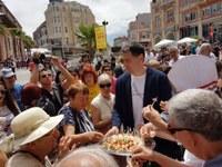 """С музикален поздрав, вкусни гозби и много настроение започна фестивалът """"Вкусът на Пловдив"""""""