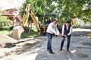"""С първа копка дадоха старта на обновяването на детска градина """"Снежанка"""" по ОП """"Региони в растеж"""""""