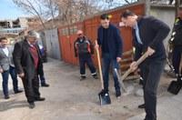 """С първа копка започна ремонтът на улица """"Борис Шивачев"""" в район """"Южен"""""""