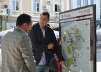 Светещи двуезични карти указват забележителностите на Пловдив