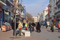 Центърът на Пловдив с нов облик