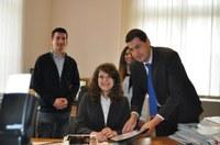 Ученичката от Търговската гимназия Петя Проданова бе кмет за един ден на Пловдив