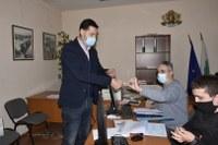 В Пловдив ГЕРБ регистрира листата си за участие в парламентарните избори