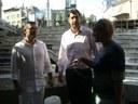 Вицепремиерът Дянков и Иван Тотев инспектираха Римския стадион