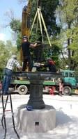 Връщат реставрираната оригинална статуя на Деметра в Цар Симеоновата градина
