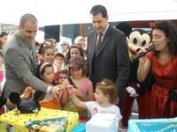 Забавления с Бате Енчо, лакомства и игри за децата организира ПП ГЕРБ