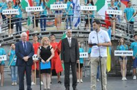 Започна Европейското по кану-каяк 2016. Кметът пожела успех на пловдивските олимпийци