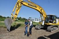 Започна изграждането на компостираща инсталация за биоразградими отпадъци по европейски проект