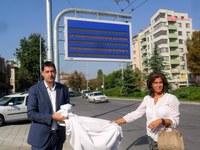 Започна монтажът на електронни табла по автобусните спирки