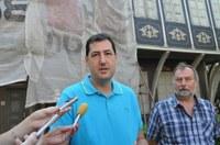 Започна първата след 20 години реставрация на фасадата на Етнографския музей в Пловдив